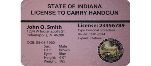 Indiana Handgun License