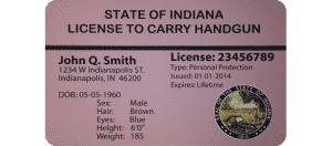 Indiana Handgun License