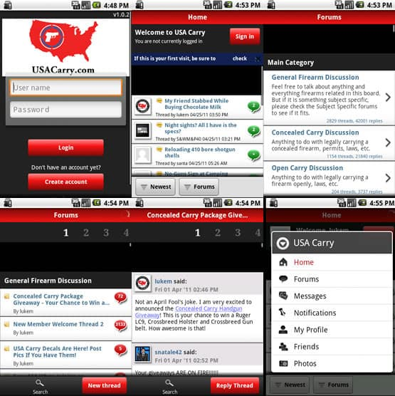 USA Carry Forums Android App