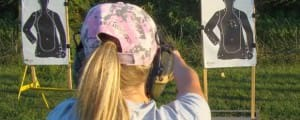 Women are packing heat and learning how to shoot