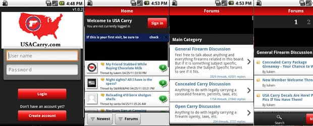 USA Carry Forums iPhone App Available Now