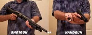 When to Use a Handgun vs. a Shotgun for Home Defense