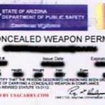 Arizona Concealed Carry Permit
