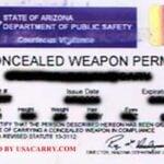 Arizona Concealed Carry Permit