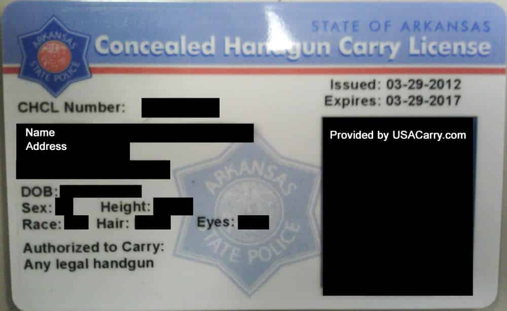 Arkansas Concealed Carry Permit Information and Reciprocity