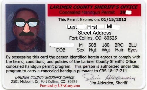 Colorado Concealed Carry Permit