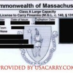 Massachusetts Concealed Carry Permit