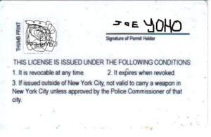 New York Concealed Carry Permit Information