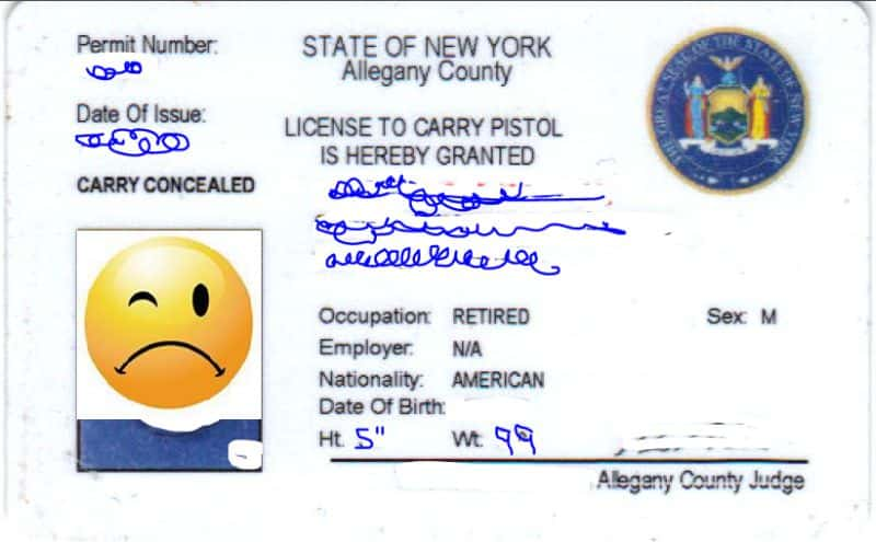 New york concealed carry permit information spiritdancerdesigns Image collections