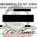 Virginia Non-Resident Concealed Carry Permit