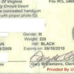 Virginia Concealed Carry Permit