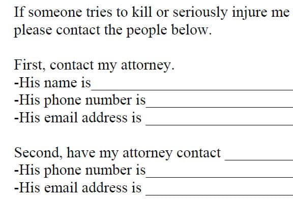 "Why I'm Giving You My ""Aftermath Contacts"" Form"