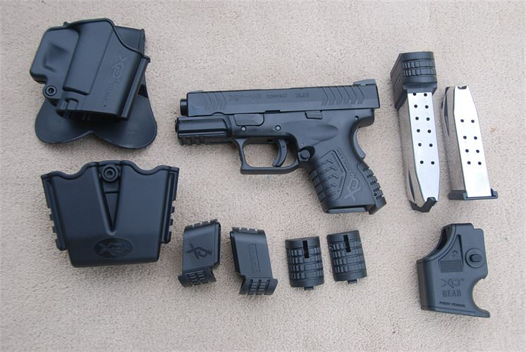 The Springfield XDM 9mm Compact 3.8″