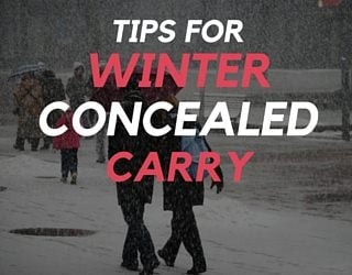 Tips for Winter Concealed Carry