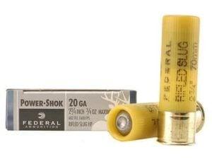 Federal Power-Shok Rifled Slug