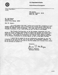 FBI Weaver Letter
