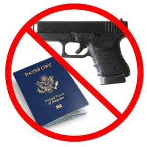 Bill in Congress Could Suspend Your Passport, Gun Rights, if Enacted