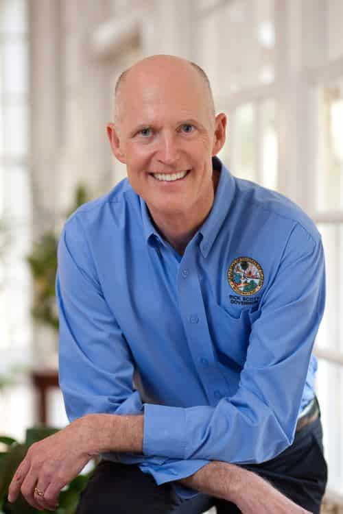Florida Gov. Scott Won't Ban Weapons Outside Political Convention