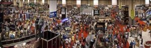 Attending the NRA Annual National Convention - Exhibit Floor