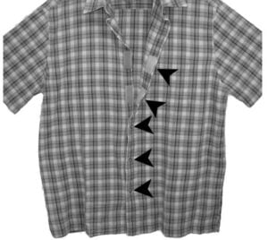 Concealed Carry Velcro Shirt