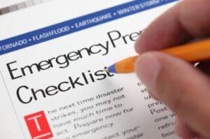 5-Minute Emergency Checklist