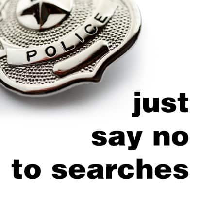 Why You Always Say No to the Police