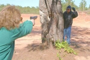 Self-Defense Shooting and Disparate Force