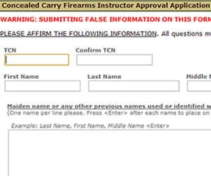 Certified Illinois Firearm Instructor Applications Available