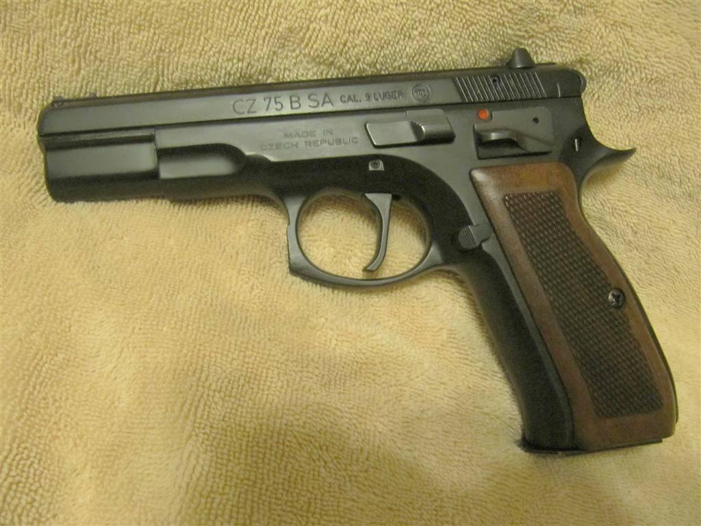 CZ 75B SAO- 9mm