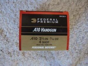 Federal Premium .410 Handgun