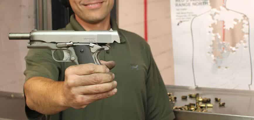 1911M .45 Caliber 3D-Printed Metal Handgun