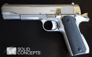 The World's First 3D Printed Metal Handgun