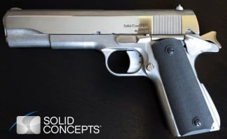 The World's First 3D Printed Metal Handgun