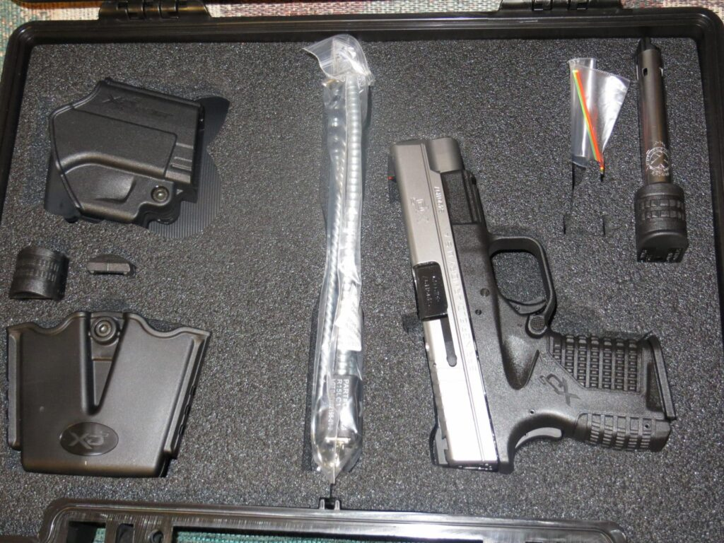 XDS Hard Plastic Case