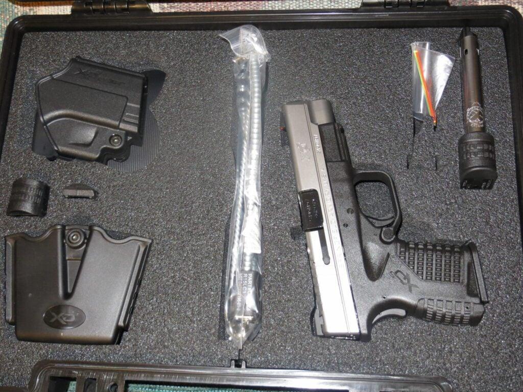XDS Hard Plastic Case