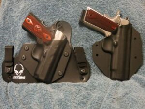 Alien Gear IWB Hybrid Holster and Replaceable Kydex Shell with Colt XSE