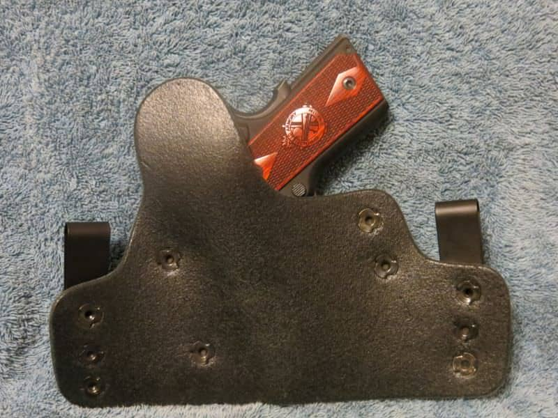 Alien Gear IWB Holster- Back View