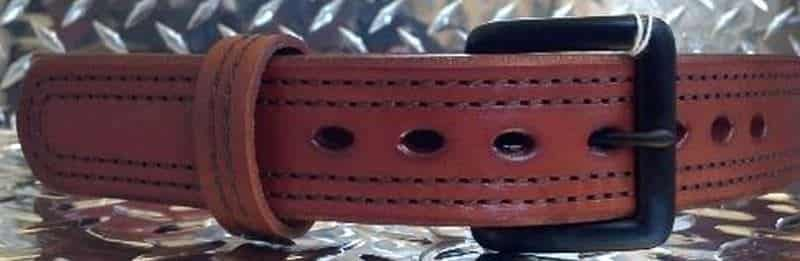 Armour Belt Rust Brown
