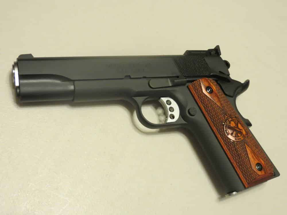 "RO is marked on the left side with ""Model 1911-A1."""
