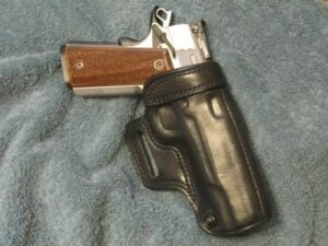 SW 1911 Pro Series 9 mm in Galco Holster