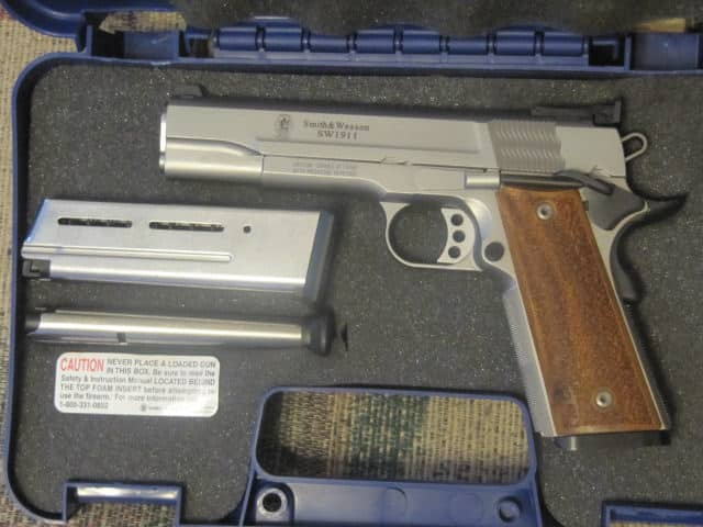SW 1911 Pro in Case
