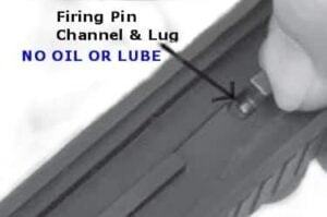 Firing Pin Channel - Lug