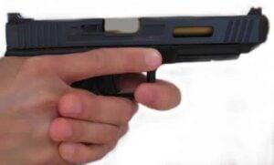Support Hand Index Finger on Trigger Guard