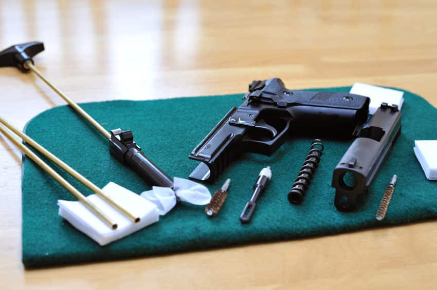 6 Rules to Follow When Cleaning Guns