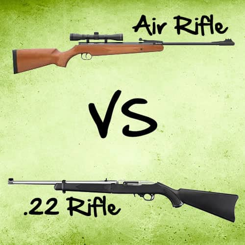 Survival Gun: Air Rifle versus .22 Rifle