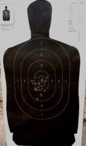CZ's Compact 2075 BD RAMI Pistol Back Grouping