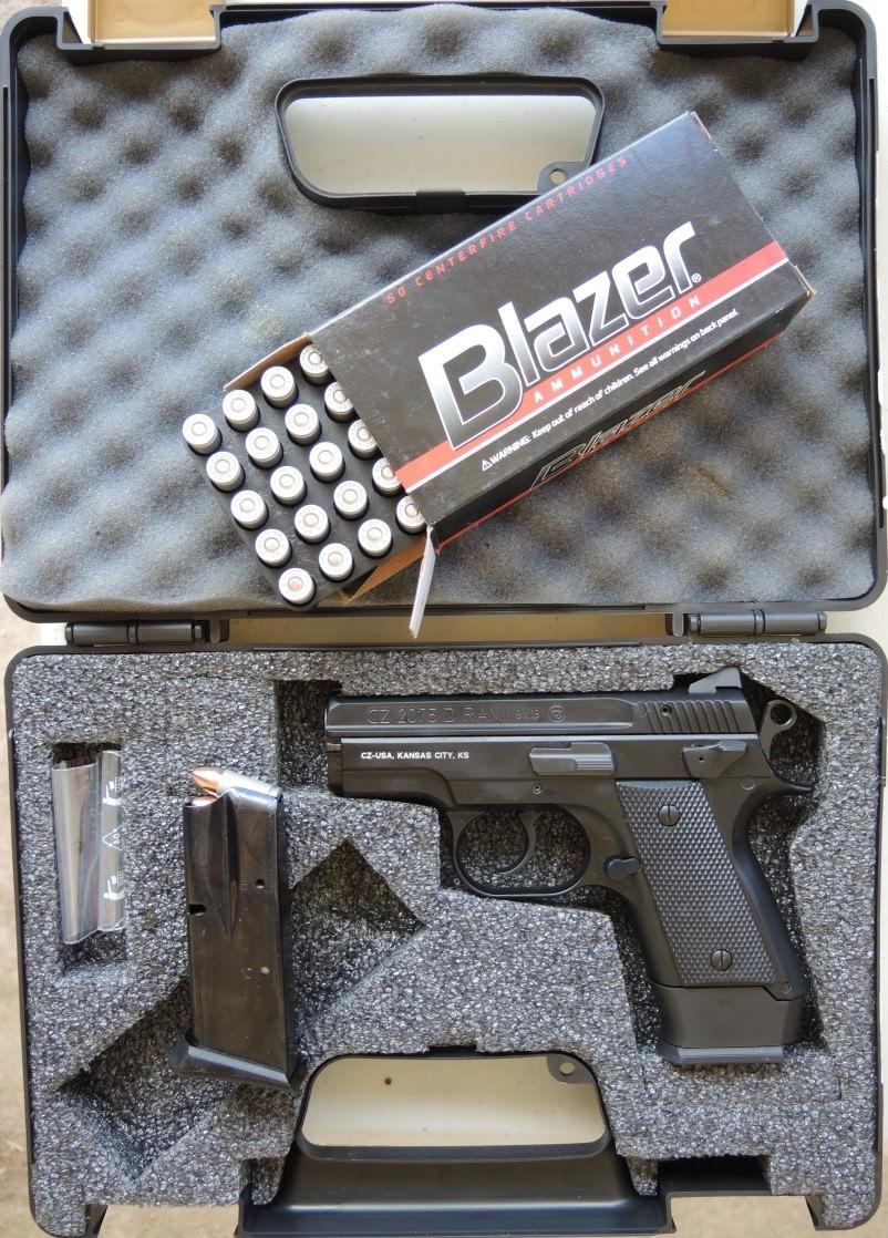 CZ's Compact 2075 BD RAMI Pistol