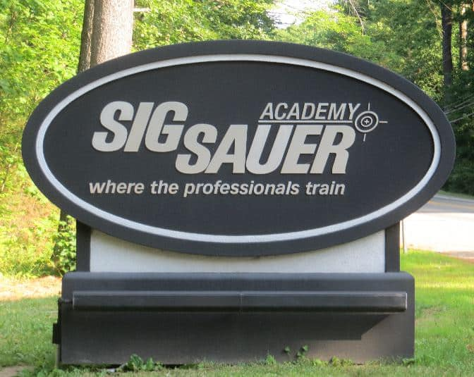 Sig Sauer Academy in New Hampshire