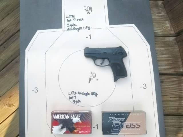 Range Test: First 14 Shots with Ruger LC9s