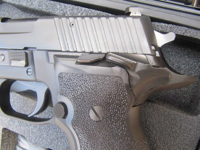 The SIG SAUER P226 Elite Single Action Only 9 mm - A Review